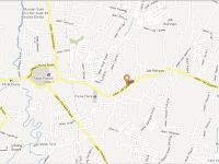 Petunjuk arah peta map Denah Pulsa Murah Bekasi Jati Makmur no:113