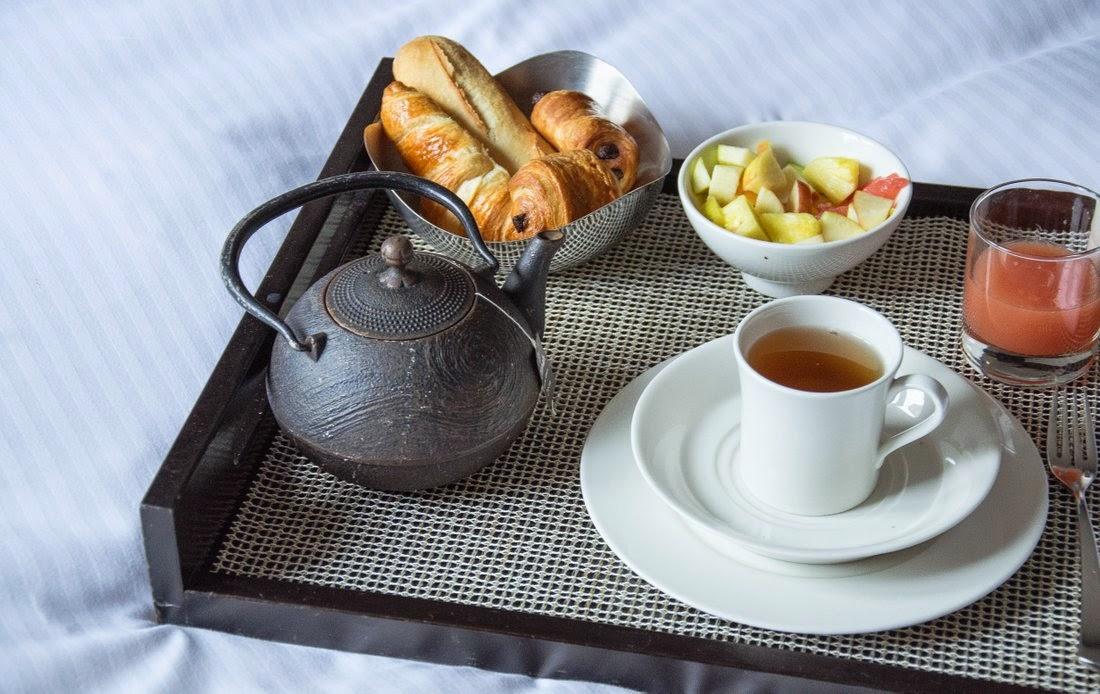Aix en Provence - Grand hôtel du Roi René - petit déjeuner