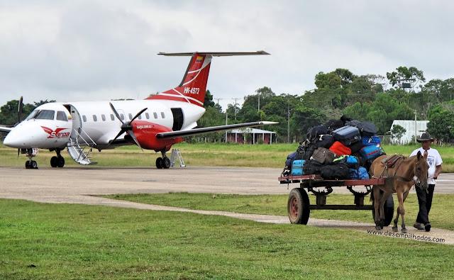 O que levar e cuidados a tomar na viagem para Caño Cristales, Colombia. Adeventure trip to Meta, La Macarena. Flight.