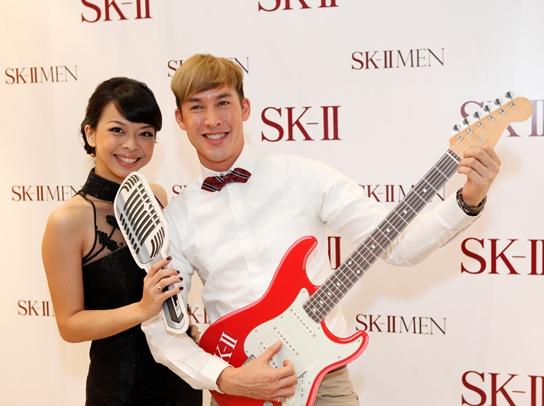 sk-ii event uttsada panichkul, musician sara wee