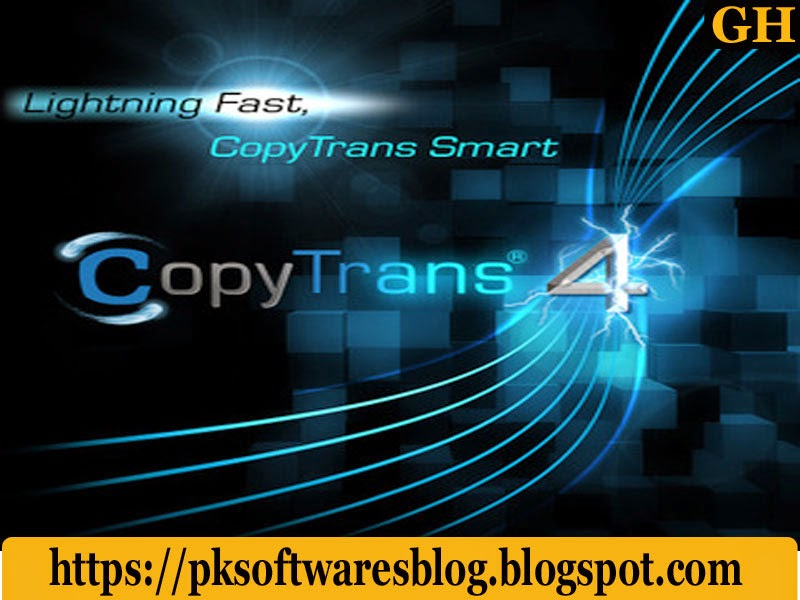 CopyTrans 4.842 (FULL + Keygen) Free Download