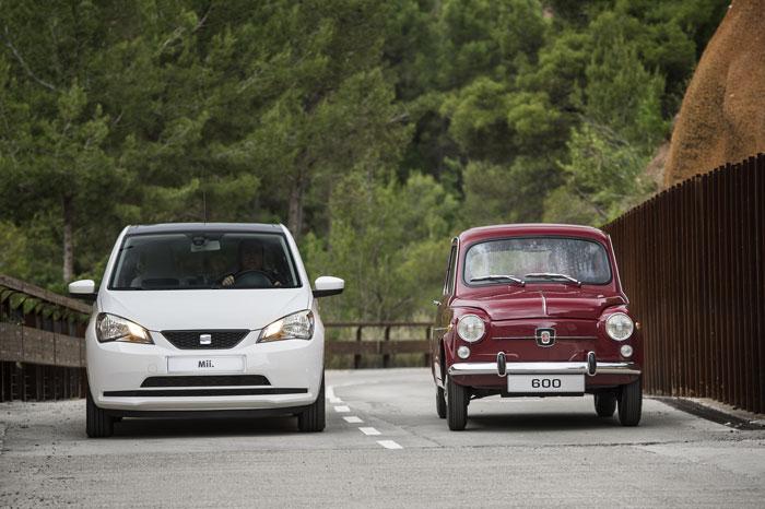 SEAT 600 vs. SEAT Mii