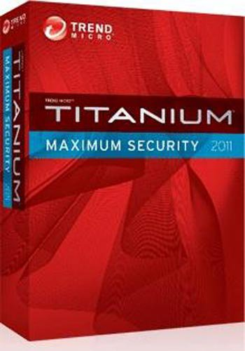 Trend Micro Titanium Maximum Security 2011