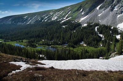 South Saint Vrain Creek, Lake Isabelle Trail