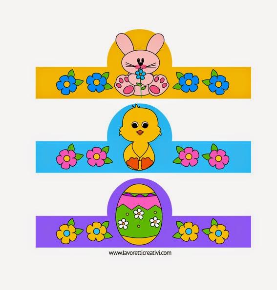 Porta uova di Pasqua da stampare