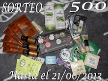 Sorteo 500 seguidoras
