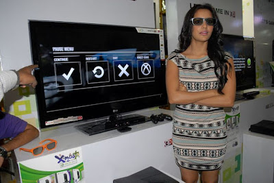priya anand launches lg 3d game festival glamour  images