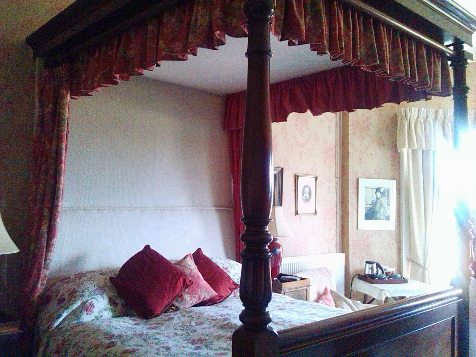 Master Bedroom in Ballinkeele House