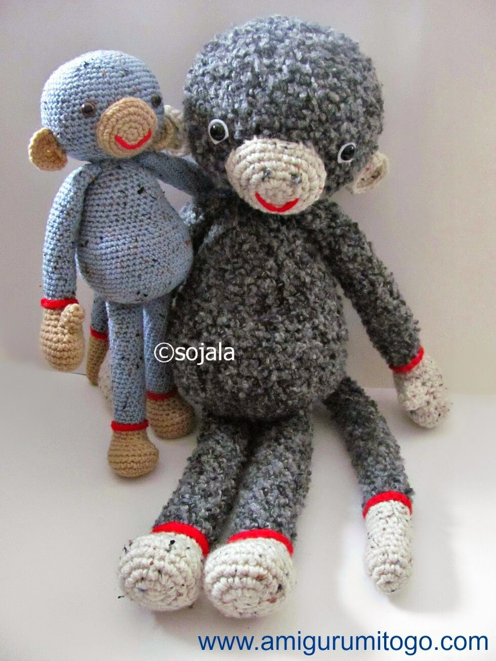 Amigurumitogo Sock Monkey : Monkey Video Tutorial ~ Amigurumi To Go