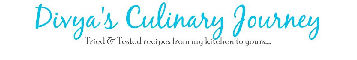 Divya's culinary journey
