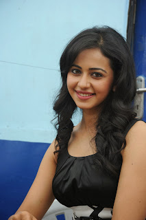 Actress Rakul Preet Singh At Venkatadri Express Movie Press Meet  0015