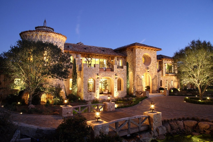 World of architecture a fairy tale home luxury villa del for Top 10 luxury homes