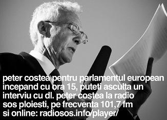 Radio SOS Ploiești 🔴 Interviu cu Peter Costea, candidat independent pentru Parlamentul European