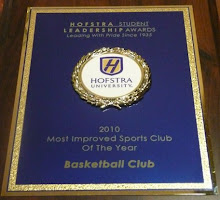 2010 Hofstra Student Leadership Award - Most Improved Sports Club Of The Year