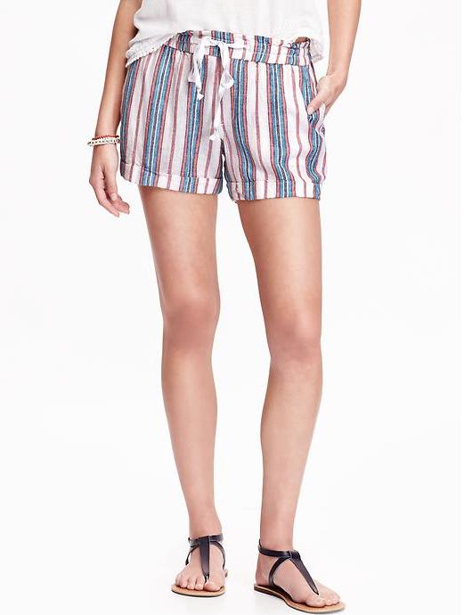 Weekend Steals & Deals | Striped Shorts