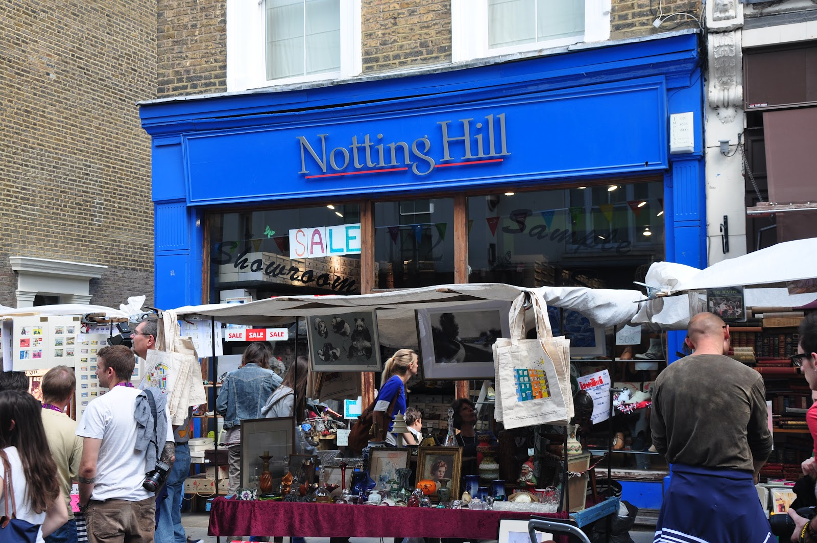 Sean\'s London Olympic Blog: Portobello Market