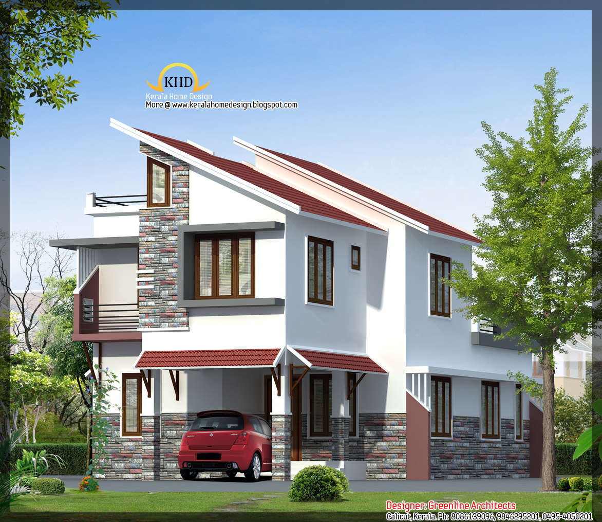 ... collections: Kerala home design (3D views of residential bangalows
