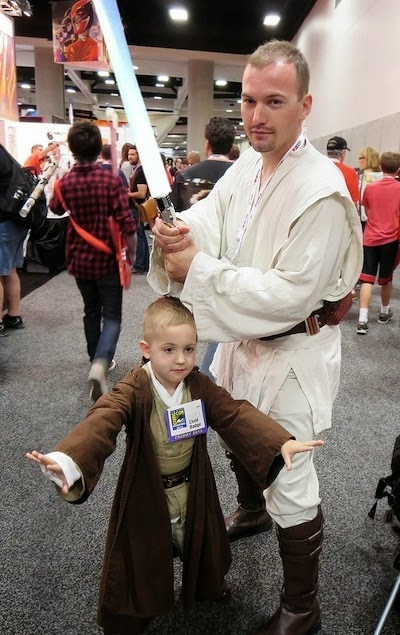 Dad Son Cosplay Star Wars