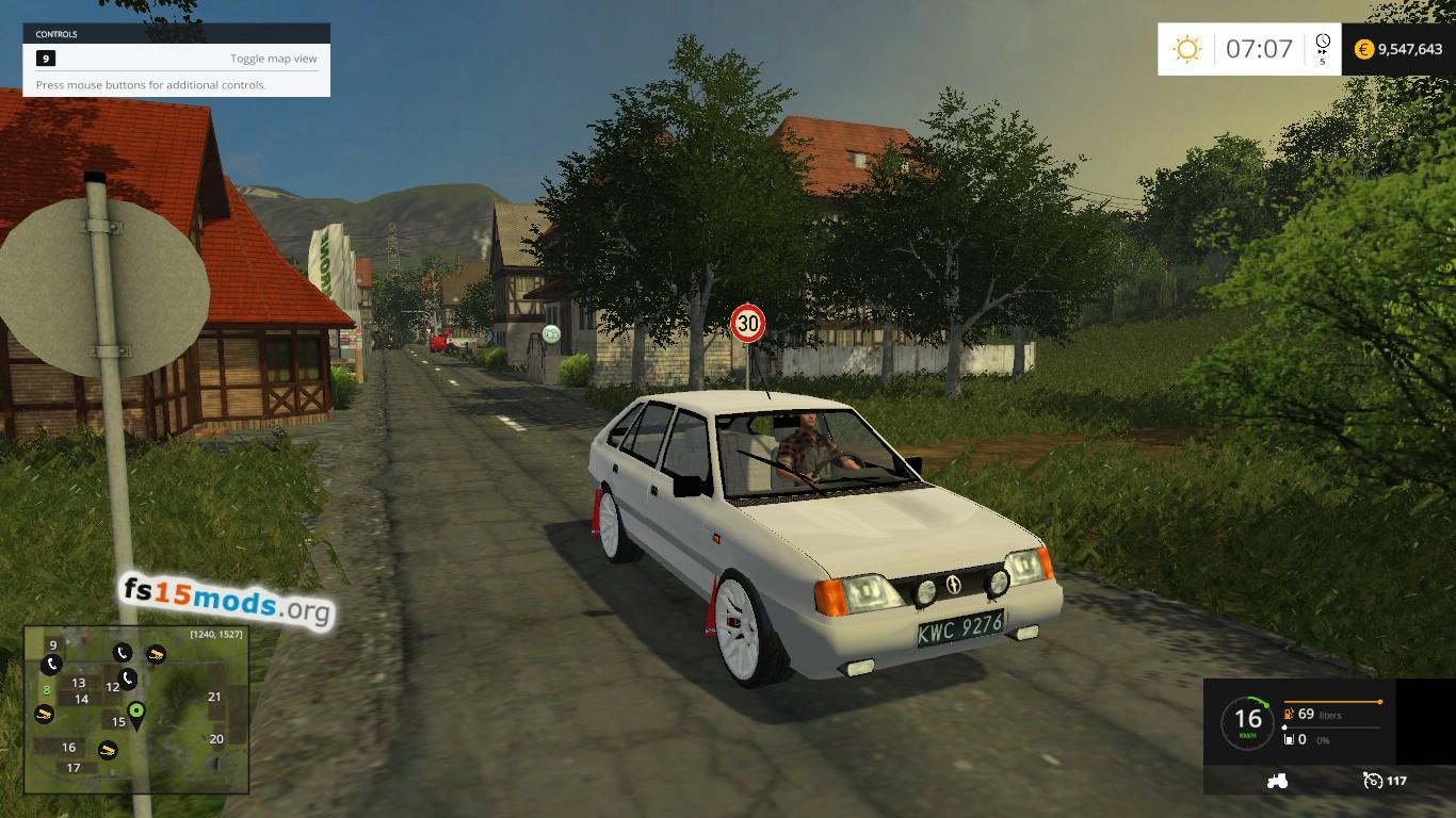 Polonez car mod fs15 mods