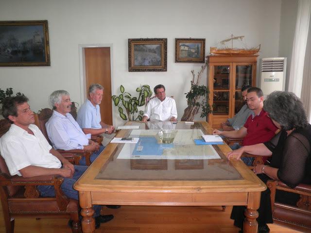 Συνάντηση Π.Σκοτινιώτη με το Σύλλογο Επαγγελματιών Μακρινίτσας