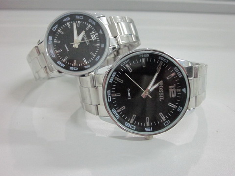"FOSSIL COUPLE STAINLESS ""FS 135"""
