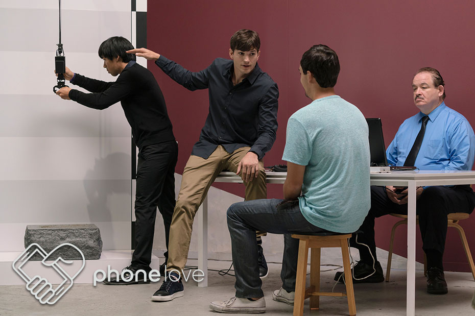 Ashton Kutcher Explores How Far You'd Go for #PhoneLove