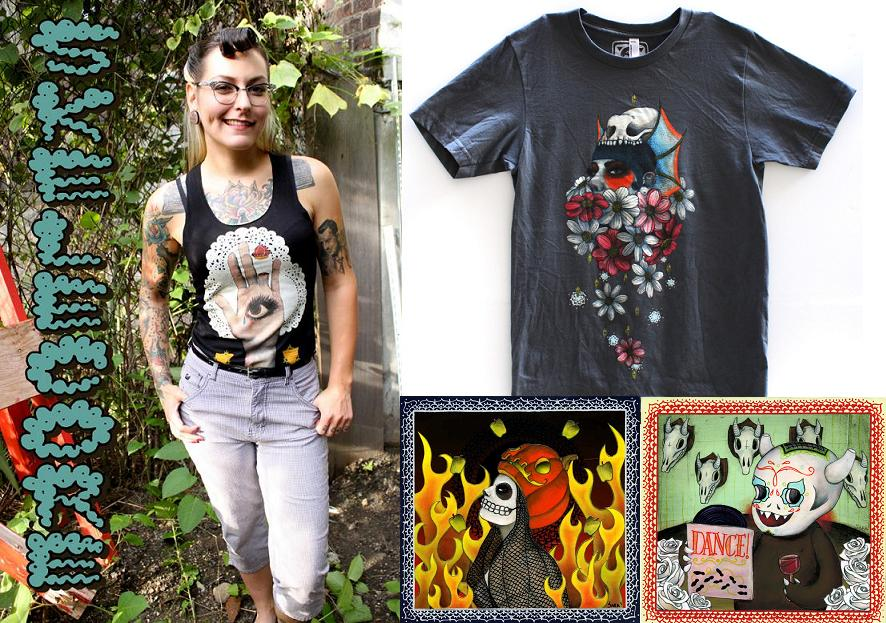 Skelecore Apparel by Sara Antoinette Martin
