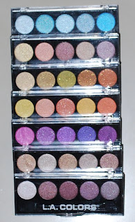Metallic Eyeshadow Palettes by L.A. Colors (seven)