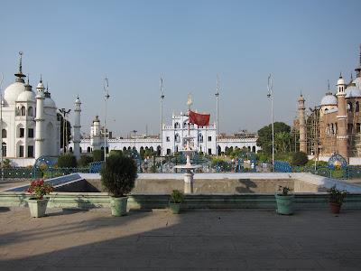 Lucknow Chotta Imambara front exterior grounds