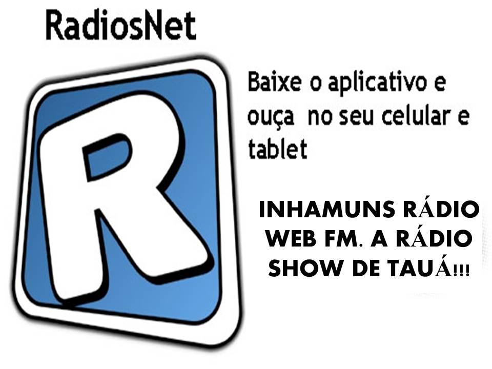 INHAMUNS RÁDIO WEB FM - TAUÁ-CE.
