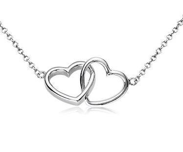 Toll Everlasting Heart Necklace In Sterling Silver $90. Get 20% Off Today  Feb 8th Only Enter Code: SWEETHEART At Checkout.