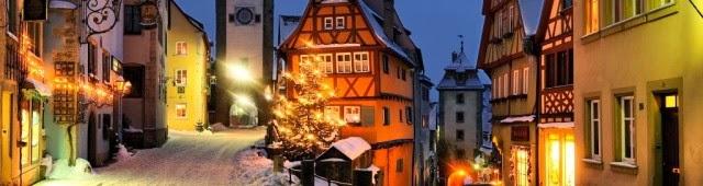 Ротенбург-на-Таубере - «спящий город» из волшебной сказки.
