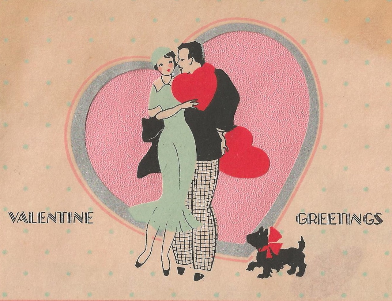 Vintage art deco valentine it 39 s my cake for Classic art deco