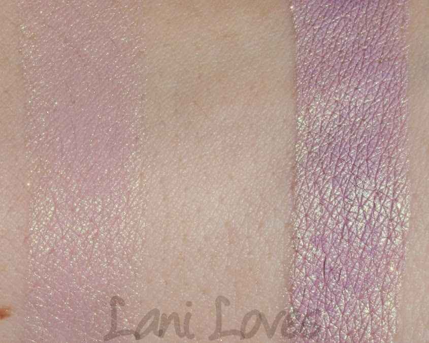 Femme Fatale Friday: Faerie Fire Eyeshadow Swatches & Review
