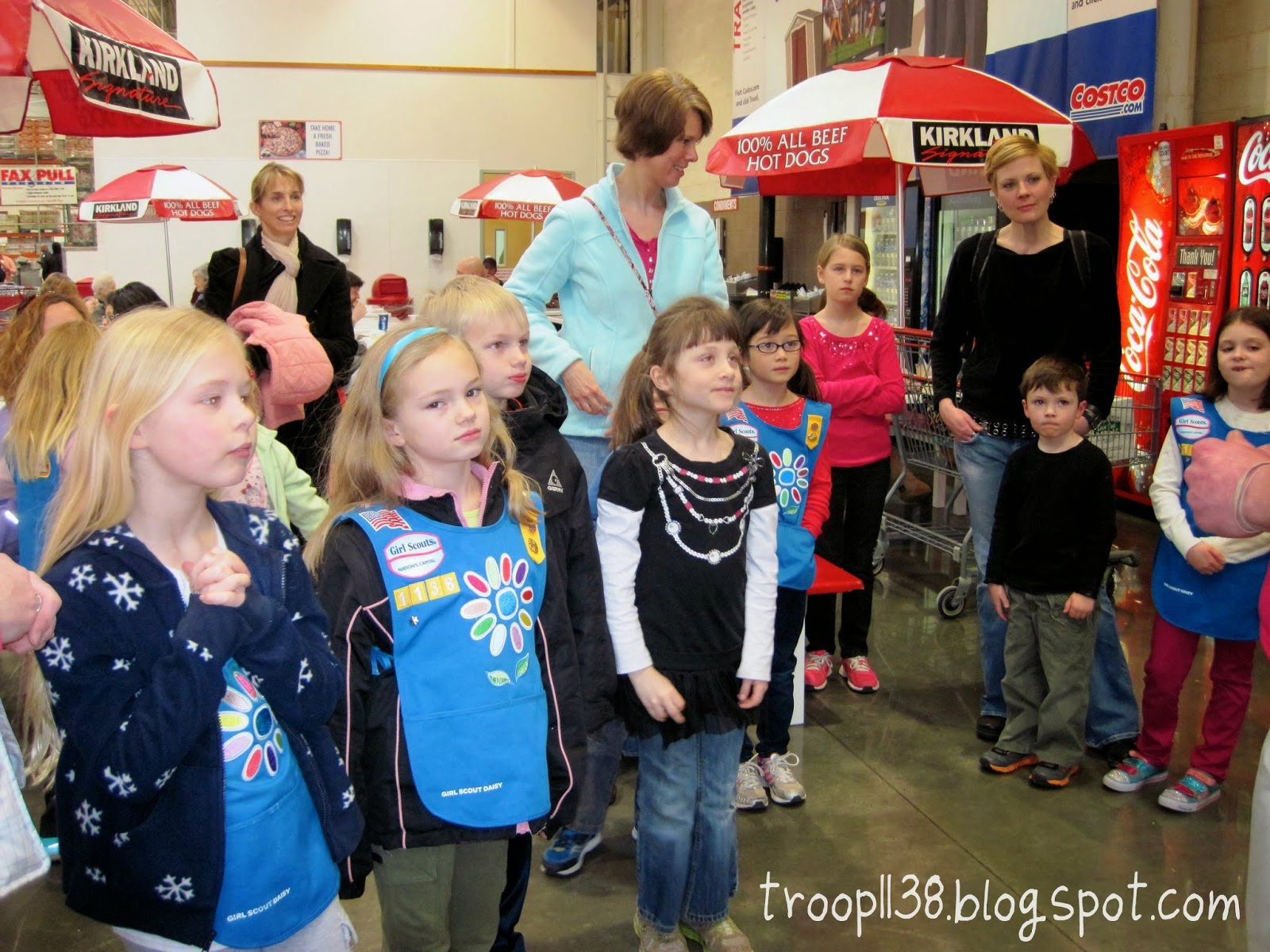 Girl Scout Troop 1138  Costco Jobs