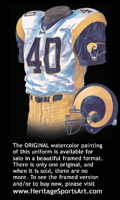 St. Louis Rams 2000 uniform