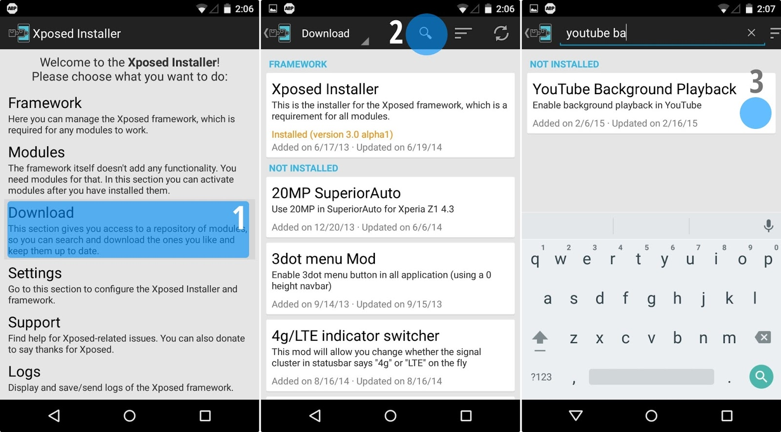download youtube videos android root