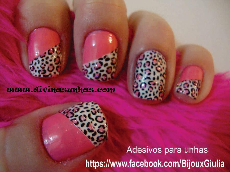 Que tal, gostaram desses lindos adesivos de corados de unhas ?