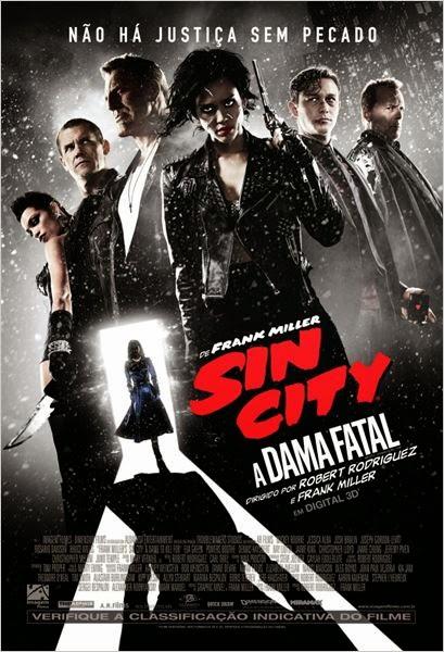 Filme Sin City 2 A Dama Fatal Dublado AVI BDRip