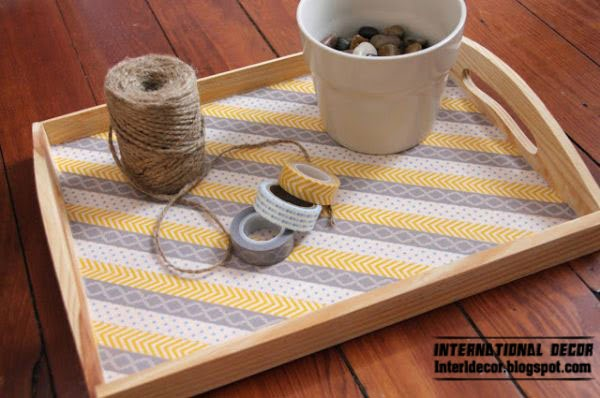 Washi Tape crafts, ideas,projects for interior design