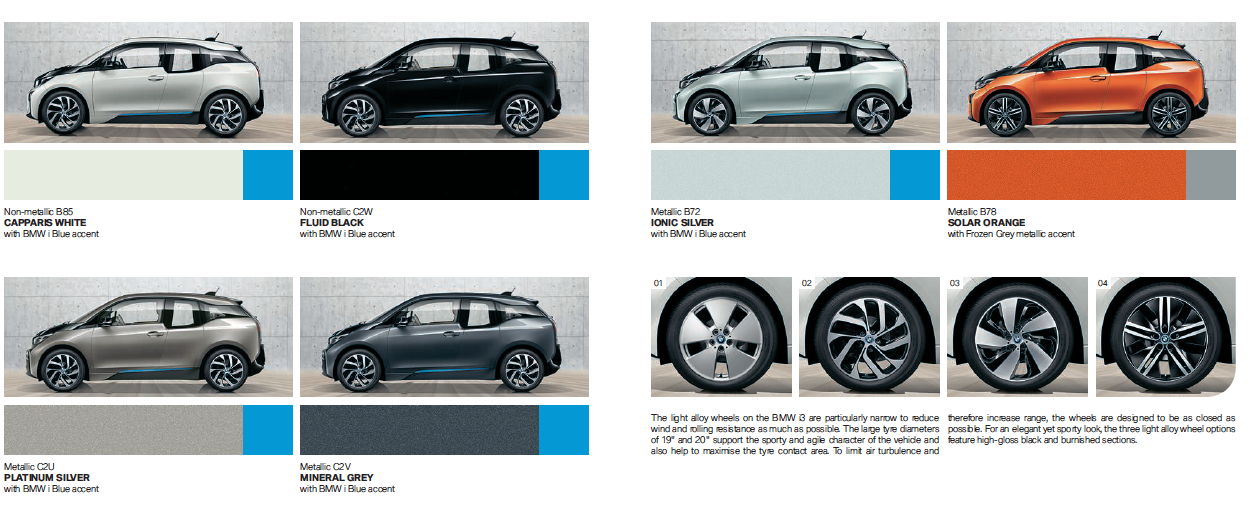 The Electric Bmw I3 2016 Brings New Colors To The I3
