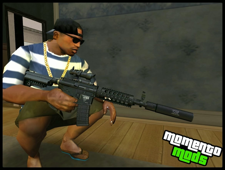 GTA SA - Pacote De Armas Em HD