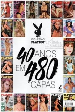 Capa Revista Playboy Especial 40 Anos Em 480 Capas