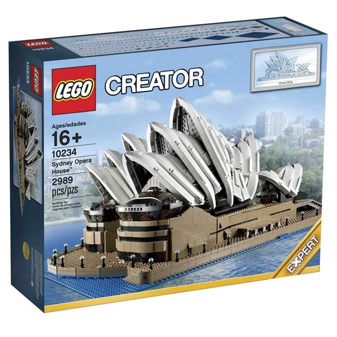 lego model box package