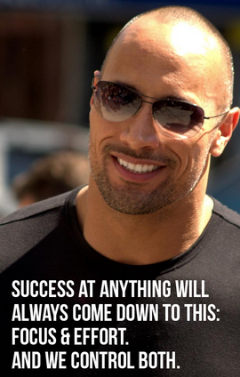 Succes at anytime will always come