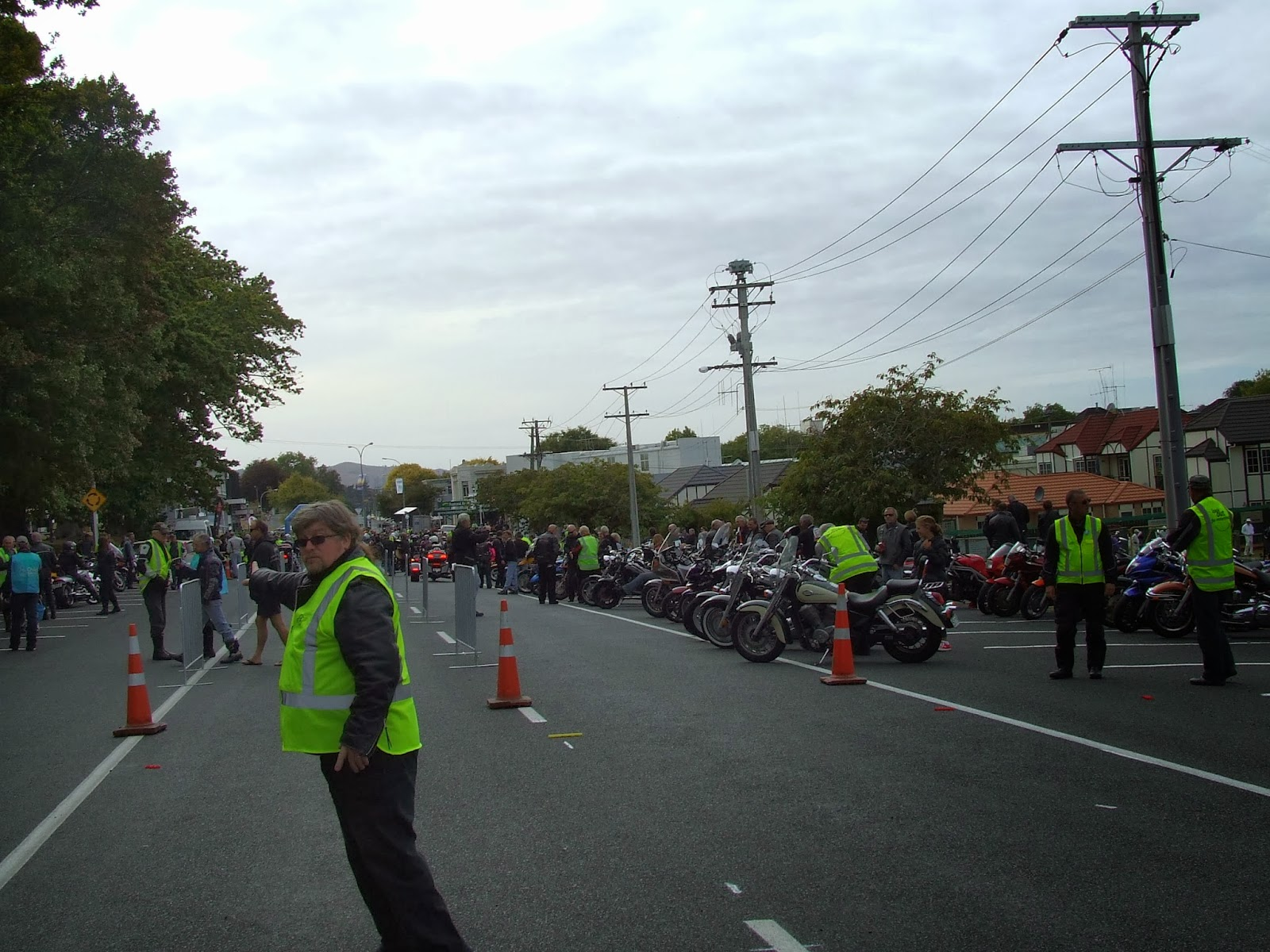 Toy Run Ulysses Waikato Chapter Cambridge - Hamilton NZ DSCF2885