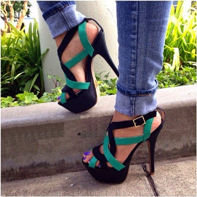 Cool 2015 Sexy Women High Heels Shoes Ankle Pearl Pointed Toe Thin Heel