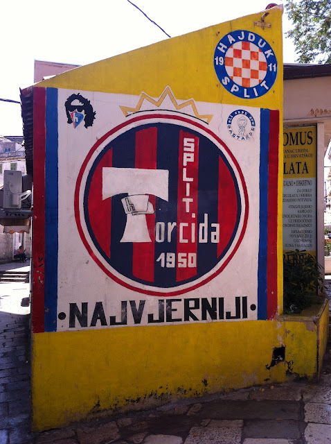 Graffiti, Split - 'Hajduk Split'