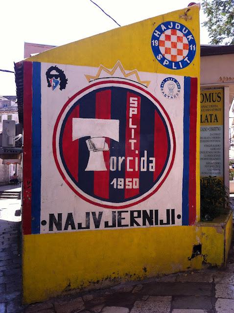 Graffiti, Split - 'Hajduk Split'