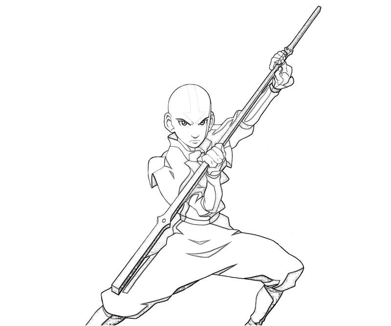 printable-avatar-aang-power-coloring-pages
